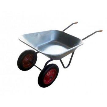 Тачка садовая IRIT IRT-02 сталь (грузоподъёмность: 65 литров/130 кг)