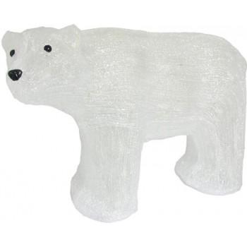 Фигура с подсветкой-белый медведь большой