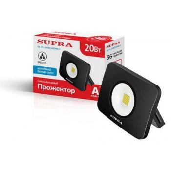 Фонарь-прожектор Supra 1800лм SL-FL-20W/4000K/1 светодиодный