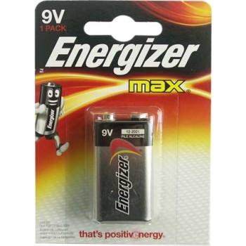 Батарейка Energizer Max (крона) 6LR61-BL1/ 9V (1 шт.)