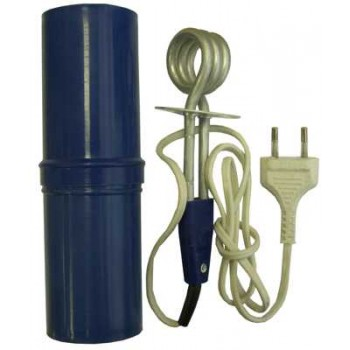Кипятильник ЭП-0.5кВт/220В Спектр-Прибор (п/ф, алюминий) в пластмассовом футляре (электрокипятильник)