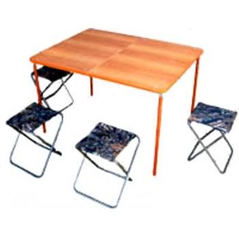 Набор туристический Риф Автотурист (стол МДФ 1050х780мм+4 стула) в сумке