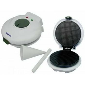 Вафельница Аксион В-11 для тонких вафель, 750Вт, терморегулятор, индикатор готовности