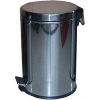 Ведро мусорное Irit IRL-101 нержавеющая сталь 5.0л