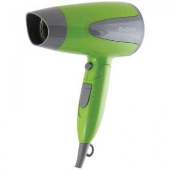 Energy EN-836 фен дорожный, складная ручка, 1600Вт, зеленый