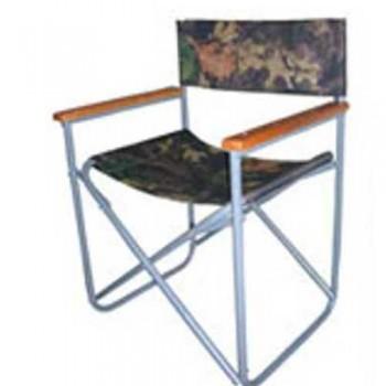 Кресло рыбака раскладное РИФ ПК в полной комплектации (откидной столик, сумка-карман, высота до сиденья 480мм)