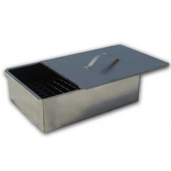 Коптильня одноярусная Гурман-1 (сталь 0.5мм) 350х250х100мм (в коробке)