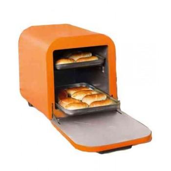 Жарочный шкаф КЕДР ШЖ-0.625/220 (электродуховка) оранжевый цвет