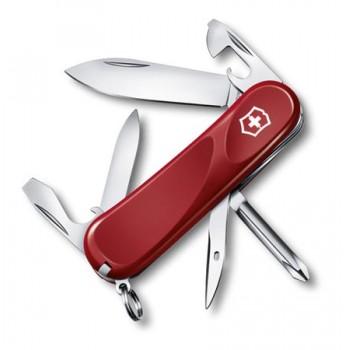 Нож Victorinox Evolulion 11, 85 мм, 13 функций, красный (2.4803.E)