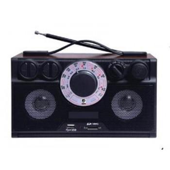 Радиоприёмник БЗРП Сигнал РП-304 УКВ/СВ/КВ/ТВ + МР3 плеер, сеть/R20*4, разъем SD/ USB, 2 динамика, стереозвук