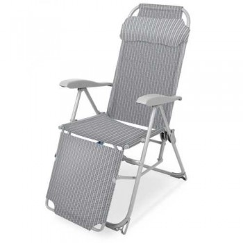 Кресло-шезлонг складное Ника КШ3 Цвет - Муссон