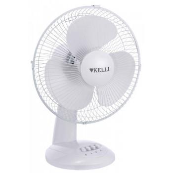 Вентилятор настольный Kelli KL-1012 диам.34см, 60Вт, 3 скорости