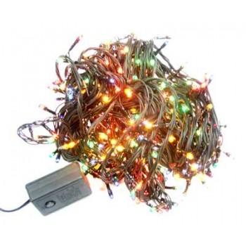 Гирлянда новогодняя 200 цветных лампочек, 8 режимов
