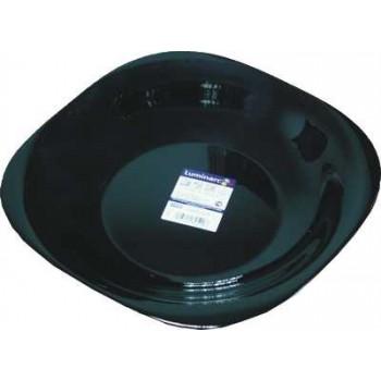 Тарелка Luminark суповая Карин черная, 21 cм