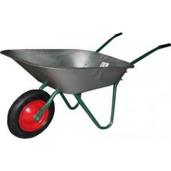 Тачка садовая Irit IRT-01 сталь (грузоподъёмность: 65 литров/100 кг)