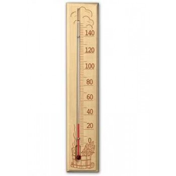 Термометр для сауны Стеклоприбор ТС исп.2 (дерево)