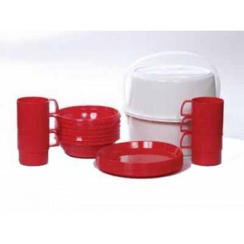 Набор посуды Дачный 8