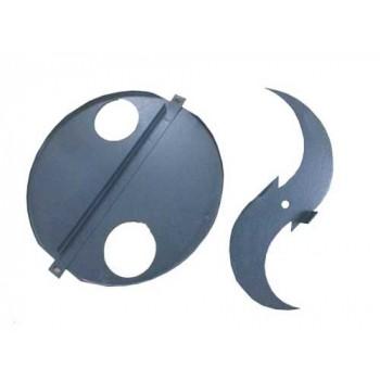 Комплект ножей для измельчитель кормов ЭЛЕКТРОМАШ ИКБ-003