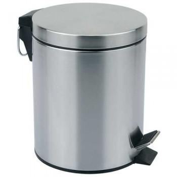 Ведро мусорное круглое DBM-01-12, тм Mallony, матовое, 12.0л (310431)