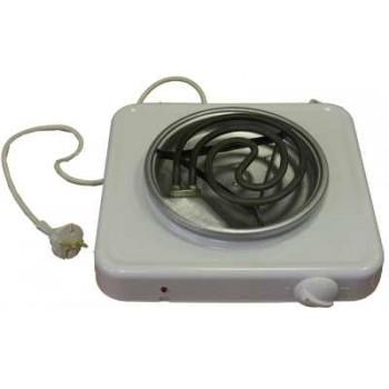 Электроплитка Пскова-1 белая ЭПТ1-1,0/220 1-но конфорочная 1.0кВт