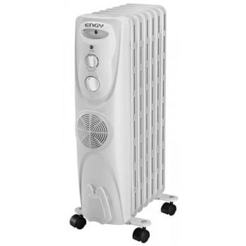 Масляный радиатор Engy EN-1307F (7 секций 2000Вт) с тепловентилятором
