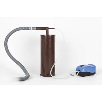 Дымогенератор для холодного копчения Дым Дымыч 01, компрессор, сталь