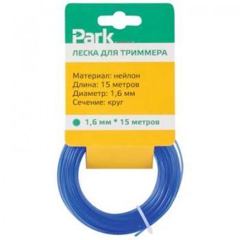 Леска нейлон для триммеров PARK 1.6мм 15м круг (183696)