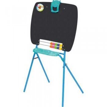 Мольберт детский односторонний НИКА М для рисования мелками (пенал, цветные счёты, зажим для бумаги) г.Ижевск
