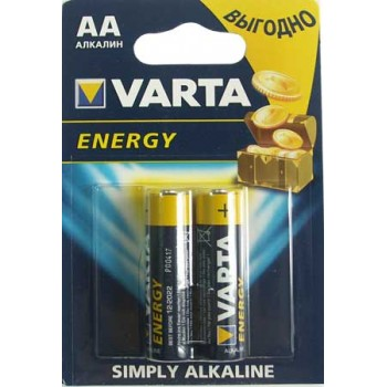 Батарейка Varta Energy (AA) LR06-BL2/1.5V (2 шт. в уп.)