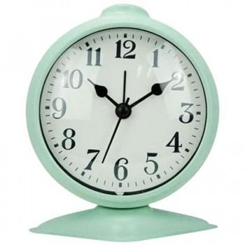 Настольные часы-будильник Energy EA-03 круглый, мята (003803)