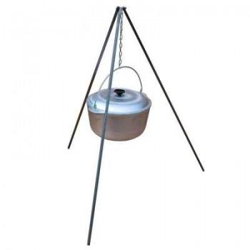 Тренога костровая ИнвентГрупп (нержавеющая сталь) 800мм в чехле (профиль-уголок 20х20мм)
