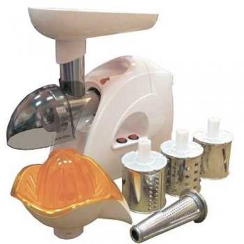 Мясорубка электрическая Аксион М41.02 реверс (макс.мощность 1700Вт, насадки - овощерезка, соковыжималка и соковыжималка для цитрусовых)