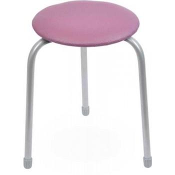 Табурет Ника Классика ТК01 (сиреневый) на 3-х опорах, сиденье круглое 310мм, фанера, винилискожа