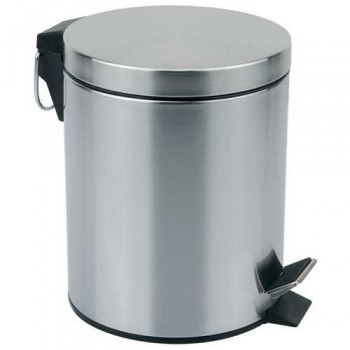 Ведро мусорное круглое DBM-01-5, тм Mallony, матовое, 5.0л (310430)
