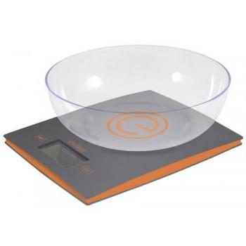 Energy EN-424 Электронные кухонные весы 5кг/1г с чашей, серые