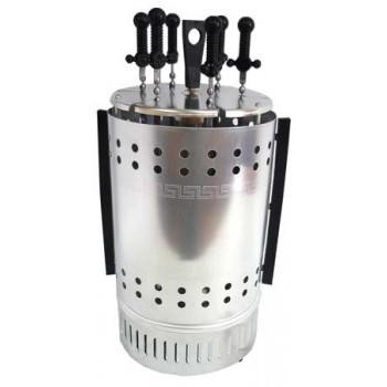 Электрошашлычница (шашлычница) Пикник ЭШВ-1,25/220-01-Ц-Т (цветн.уп-ка, 6 осн.+ 6 доп.шампуров, 1250Вт)