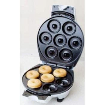 Вафельница Великие реки Пышка-1 1200Вт (пончики) с регулировкой температуры, антипригарное покрытие, 7 полуформ