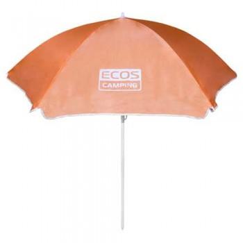 Зонт пляжный Ecos BU-05 160*6 см, складная штанга 170 см