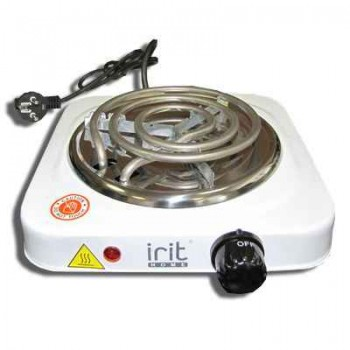 Электроплитка Irit AMP-8101 1-но конфорочная, спираль
