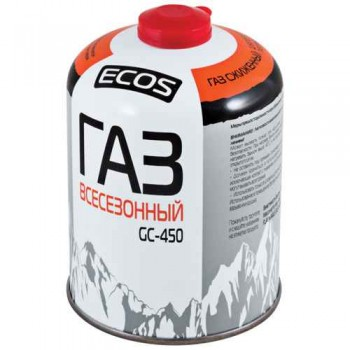 Газовый баллон GC-450 (резьбовой EPI-GAS, 450гр)