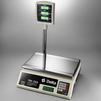 Delta ТВН-35А Весы торговые электронные со стойкой 35кг/5г