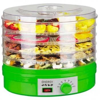 Сушилка для овощей и фруктов Energy EN-770 (электросушилка 5 прозрачных поддонов) 245Вт