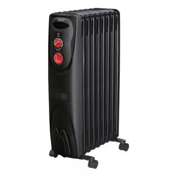 Масляный радиатор Engy EN-1909 (9 секций 2000Вт) черный