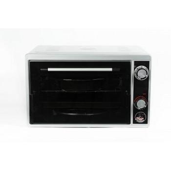 Духовка электрическая Чудо пекарь ЭДБ-0122 1500ВТ, 39л, 3 режима работы, серебристый металлик