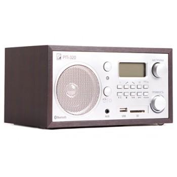 Радиоприёмник БЗРП Сигнал РП-320 УКВ/СВ, сеть, разъем SD/USB, часы, будильник