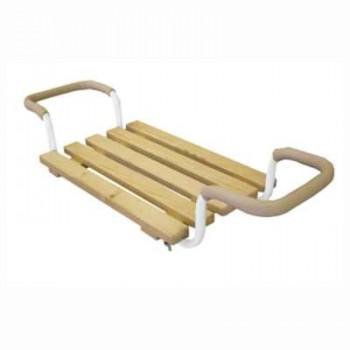 Сиденье в ванну СВ3 Раздвижное (5-ти реечное, регул.по ширине ванны)