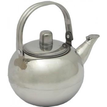 Чайник заварочный Astell 1.0л AST-002-ЧС-10 (нержавеющая сталь, с ситечком)