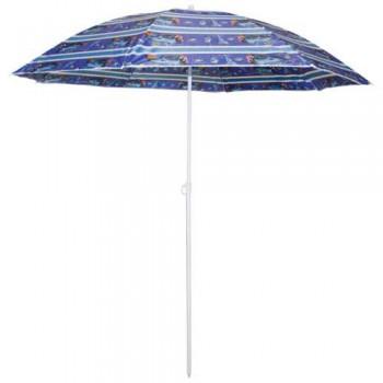Зонт пляжный Ecos SDBU001B, высота180см, стойка с наклоном