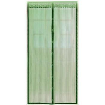 Противомоскитная сетка Капутомоскито KM-E 100х210см, 8 магнитов, зеленая