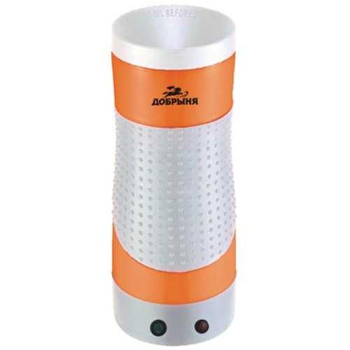 Омлетница вертикальная Добрыня DO-2403 (бело-оранжевая) 210Вт